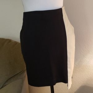 Heather asymmetrical skirt, Lambskin size